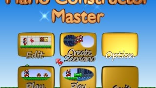 getlinkyoutube.com-Mario Constructor Master [Alpha Preview 1]