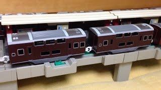 【改造】 プラレール 阪急 8000系ダブルデッカー (二階建て)車作ってみたTakaratomy Plarail