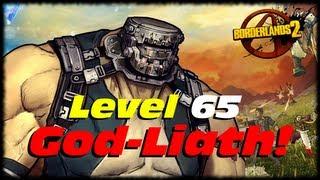 getlinkyoutube.com-Borderlands 2 UVHM Level 65 God-Liath Goliath Evolution Transformation! Level 61 Krieg vs Godliath!