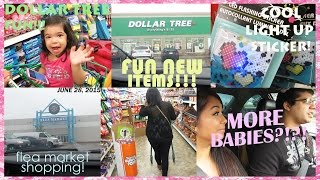 getlinkyoutube.com-DOLLAR TREE SHOPPING FUNN!!! NO MORE BABIES FOR US!! | JUNE 28, 2015 VLOG #10