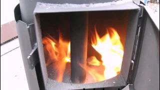 getlinkyoutube.com-печь вертикального длительного горения с боковой загрузкой от Эквиптех