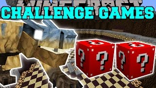 getlinkyoutube.com-Minecraft: TIGREX CHALLENGE GAMES - Lucky Block Mod - Modded Mini-Game