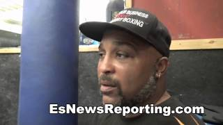 buddy mcgrit on how big would Arturo  gatti be if he was fighting now days EsNews