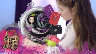 getlinkyoutube.com-Way Too Wonderland and Raven Queen Playset – Instructional Video | Ever After High