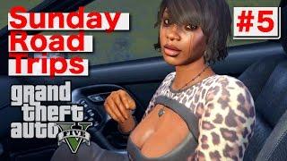 getlinkyoutube.com-Sunday Road Trip: #5 (GTA V) PS4 Gameplay Hooker First Person/Taxi/Mountain Bike