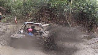 getlinkyoutube.com-Rzr Krazy Krew hits the Amazon @ Burning Rock ATV Park
