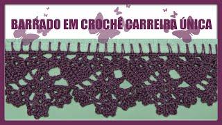 getlinkyoutube.com-BARRADO EM CROCHÊ CARREIRA ÚNICA