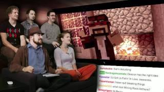 getlinkyoutube.com-MineCraft Music Videos! - Pre-MineCon SHOW  TRAILER! - Part 2