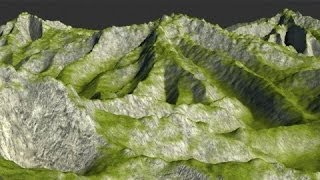 getlinkyoutube.com-Create Mountain in 3ds max and Photoshop