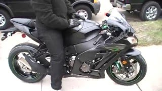 getlinkyoutube.com-1st Ride 2016 Kawasaki Ninja ZX10R ABS