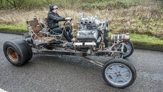getlinkyoutube.com-Inventor Builds Steampunk Inspired Automatron Car