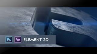 getlinkyoutube.com-After Effects- 3D Twitter logo Element 3D Tutorial
