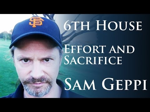 6th House - Effort Service and Sacrifice in Vedic Astrology
