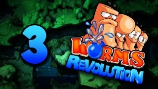 getlinkyoutube.com-Back Up On A Truce, Everyone Dies - Worms Revolutions #3