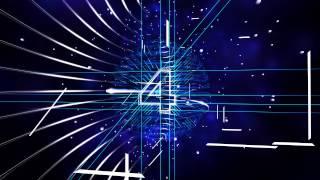 getlinkyoutube.com-100FPS 4K Wireframe Animation Countdown Numbers AA VFX
