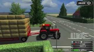 getlinkyoutube.com-Bale driving ★ Bloopers in Farming Simulator [HD]