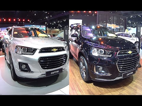 All new Chevrolet Captiva 2016, 2017 2.4L, four cylinder, 167 hp engine LTZ