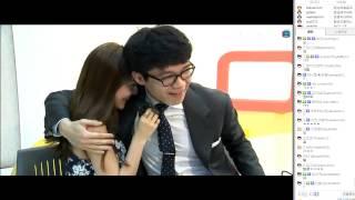 getlinkyoutube.com-아프리카TV BJ보겸 모델 김민영과 포옹