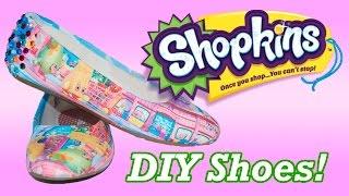 getlinkyoutube.com-DIY CUSTOM SHOPKINS SHOES ! Perfect Birthday Gift idea for any Shopkin Lover!