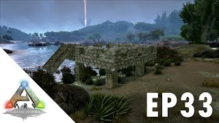getlinkyoutube.com-ARK Survival Evolved S1Ep33  Experiment Auto Cementing Paste Farm????