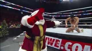 getlinkyoutube.com-John Cena vs. Alberto Del Rio - Miracle on 34th Street Fight Ending: Raw, Dec. 25, 2012