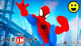 SPIDERMAN Uomo Ragno - Giochi di Cartoni Animati in Italiano per Bambini - Disney Infinity 2.0 width=
