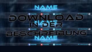 getlinkyoutube.com-Banner Template ★»Free Download«★ [NightmareGFX]