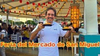 getlinkyoutube.com-Feria Mercado San Miguel: Paellas, Tapas, and Tintos at Downtown Miami   Traveling Robert
