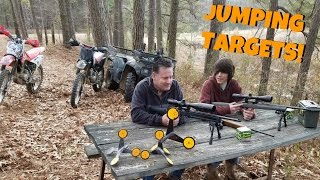 getlinkyoutube.com-Jumping Targets! The Funnest Way to Waste Ammo!?! 22 Shooting!