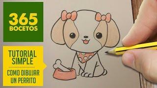 getlinkyoutube.com-COMO DIBUJAR PERRITOS KAWAII PASO A PASO - Dibujos kawaii faciles - How to draw a dog