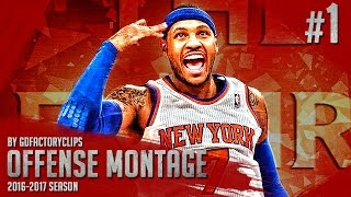 getlinkyoutube.com-Carmelo Anthony Offense Highlights Montage 2015/2016 (Part 1) - GodMelo Mode!