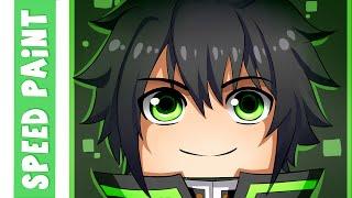 getlinkyoutube.com-Minecraft Zakei 2.0 Speedpaint-Enzo