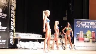 Sophia Thiel's erster Wettkampf