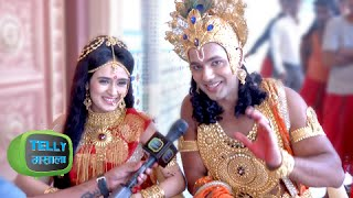 getlinkyoutube.com-Interview: Draupadi & Krishna Answer Funny Questions | Suryaputra Karn