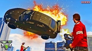 getlinkyoutube.com-GTA 5 KURUMA KILLERS!! Miniguns Vs Kurumas Last Team Standing Battle (GTA 5 Funny Moments)