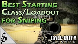 getlinkyoutube.com-Ghosts | Best Starting Class/Loadout for Snipers/Quickscoping [First Call of Duty Ghost Footage]