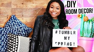 DIY IKEA Room Decor Hack Easy Room Makeover! #TUMBLRMYSPRING