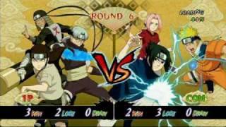 getlinkyoutube.com-Naruto: Ultimate Ninja Storm Neji vs. Sasuke