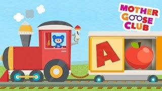 getlinkyoutube.com-Alphabet Train Food Train - Mother Goose Club Rhymes for Kids