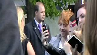Rupert Grint: Amsterdam Photo Exhibition Opening