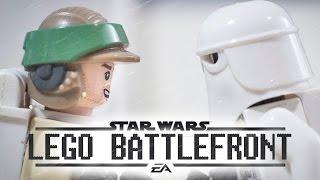 getlinkyoutube.com-LEGO Star Wars Battlefront - Battle of Hoth (4K)