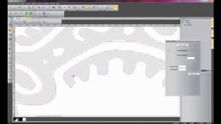 getlinkyoutube.com-ArtCAM Express 2011 - Creating Vector Artwork from an Image