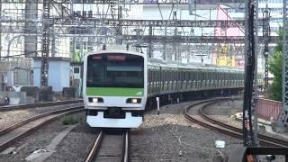 getlinkyoutube.com-【山手線】内回り東京入線発車 男性車掌 発車メロディ