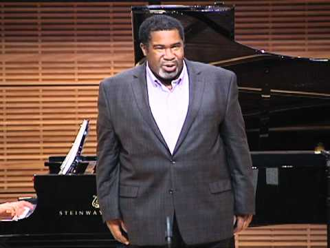 YTSO 2011 Launch: Eric Owens performs Non Piu Andrai