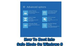 getlinkyoutube.com-How To Boot Into Safe Mode On Windows 8