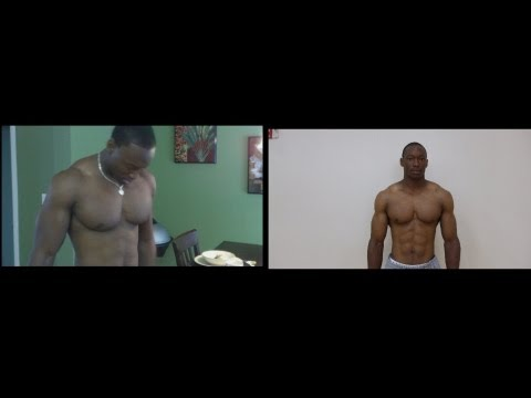 Pics of me BULKING UP then GETING CUT UP