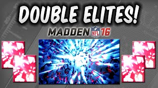 getlinkyoutube.com-MUT 16 - DOUBLE ELITE Pack Opening - CRAZY PACK in Madden 16 Ultimate Team