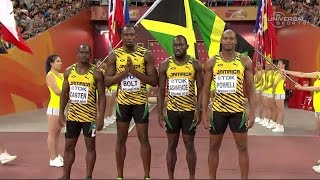 getlinkyoutube.com-Jamaica wins, USA DQ'd again in 4 x100m relay - Universal Sports