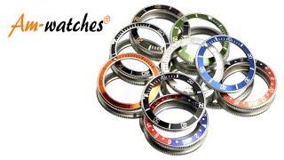 getlinkyoutube.com-Am-watches Lünette für Vostok Amphibia Uhren