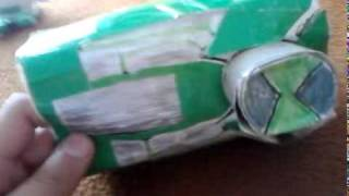 getlinkyoutube.com-Ben 10 paper omnitrix and ultimatrix